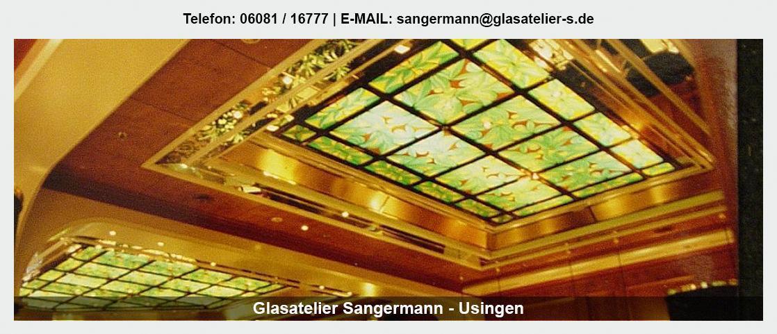 Glas  Kemmenau - Glasatelier Sangermann: Spiegel, Glaswände, Leuchtdecken